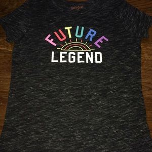"""A shirt from cat & jake saying """"future legend"""""""